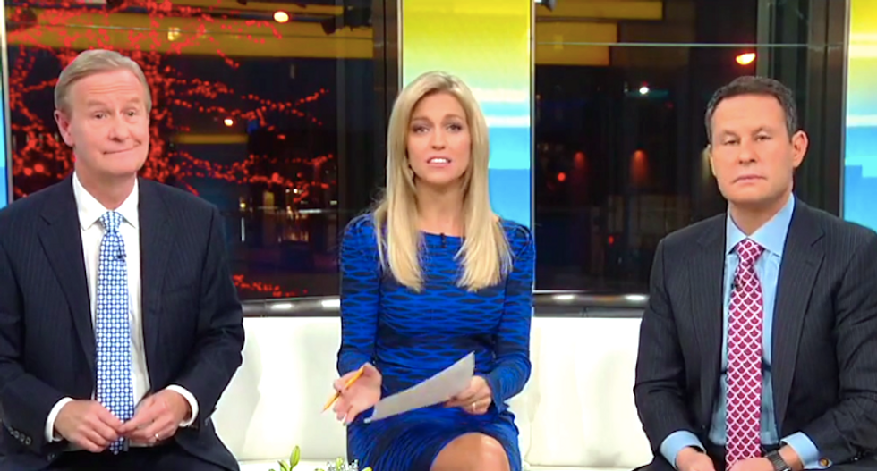 'Fox & Friends' freaks out over Roger Stone getting Trump 'in trouble' by boasting about Assange dinner