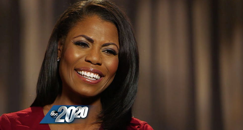 Omarosa singles out Mitt Romney in her warning to 'bow down to Trump'
