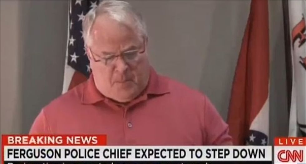 WATCH LIVE: Ferguson Police Chief Tom Jackson expected to announce his resignation