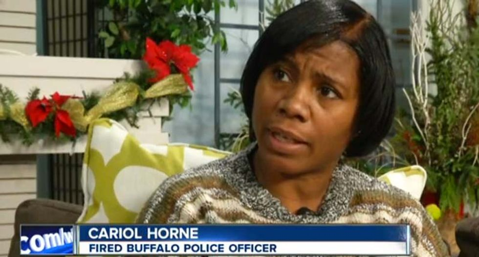 Fired Buffalo police officer fights for pension after stopping fellow cop from strangling suspect