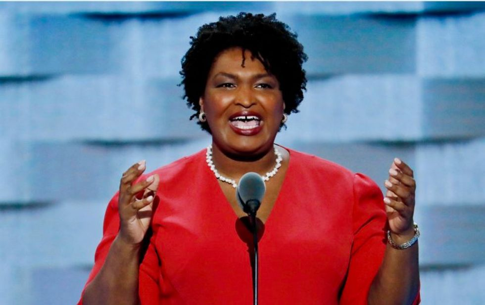 Votes for Democrat Stacey Abrams are being changed to Republican Brian Kemp: Georgia NAACP