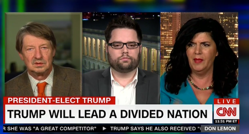Don Lemon sets panelist straight after she claims rural white people know minorities from TV