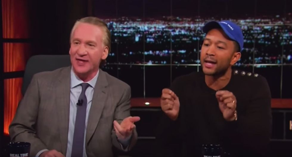 WATCH: Bill Maher panel blows up after David Axelrod insists Trump isn't a racist