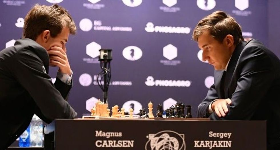 Battle is on in youngest ever world chess championship
