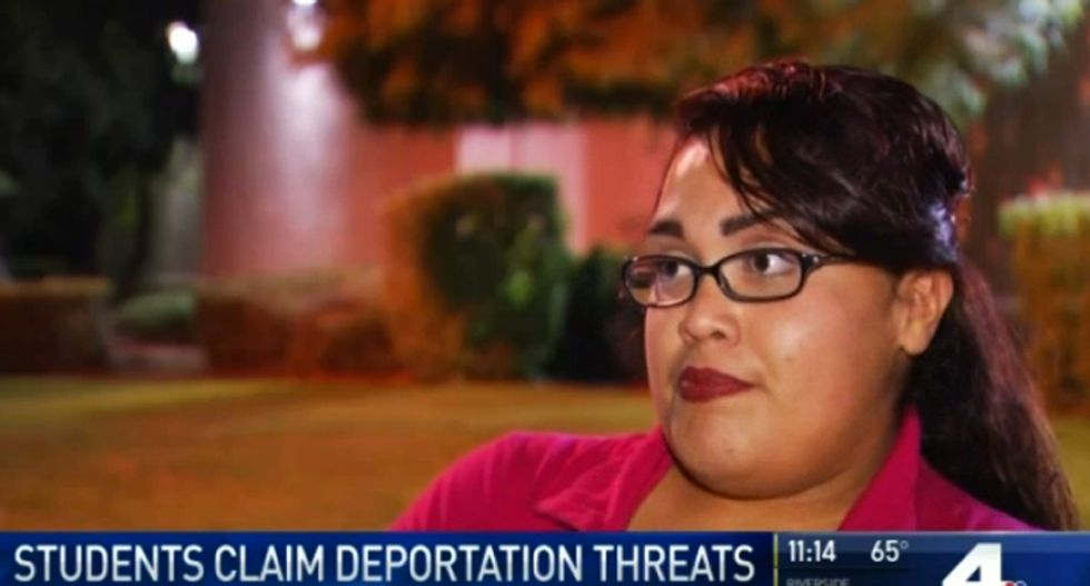 BUSTED: Teacher caught taunting students their parents will be deported now that Trump is president