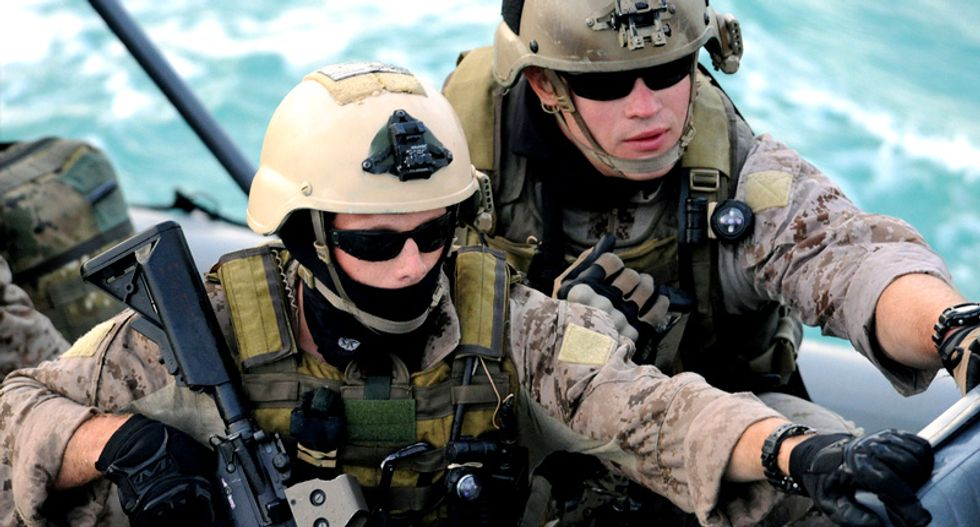 US Navy plans to offer women combat roles and extended maternity leave