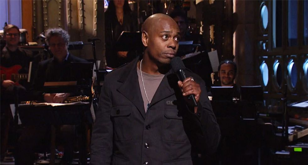 Dave Chappelle breaks SNL tradition with emotional monologue about Trump and black Americans