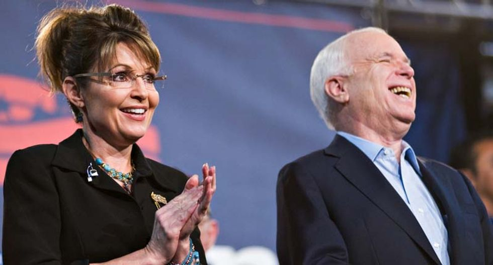 Sarah Palin is not invited to John McCain's funeral: report