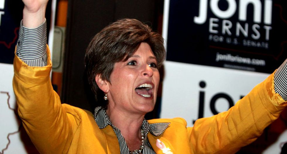 WATCH: Iowa Sen. Joni Ernst delivers GOP response to the 2015 State of the Union