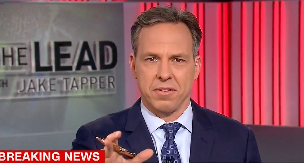 Tapper hits Huckabee Sanders with damning list of Trump lies after she claims people 'are not entitled to their own facts'