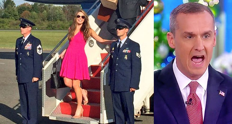 Hope Hicks fled the room after Trump called her 'the best piece of tail' Lewandowski will ever have: report