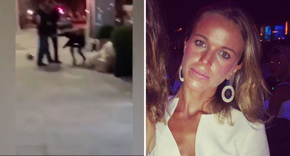 'Hurry up, Jew': NFL heiress sparks brawl and beats lawyer bloody with $500 glass purse
