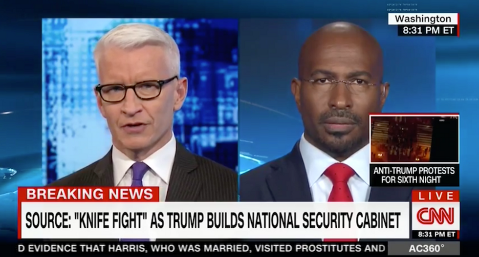 Van Jones: Trump lowered America's standards to accepting the 'absurdity' of a white supremacist advisor