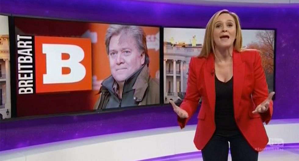 Samantha Bee: American tsar Donald Trump has found his 'Assputin' in Steve Bannon