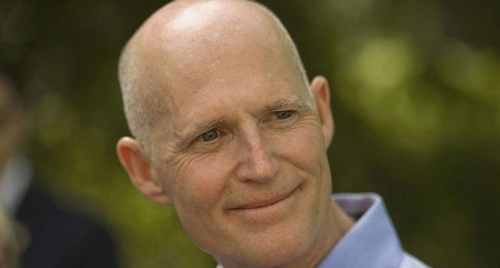 Self-described 'Senator-elect' Rick Scott will travel to DC for orientation and leadership votes this week