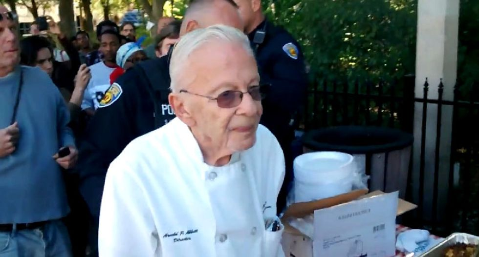 Undeterred by arrest, 90-year-old Florida man gets another citation for feeding the homeless