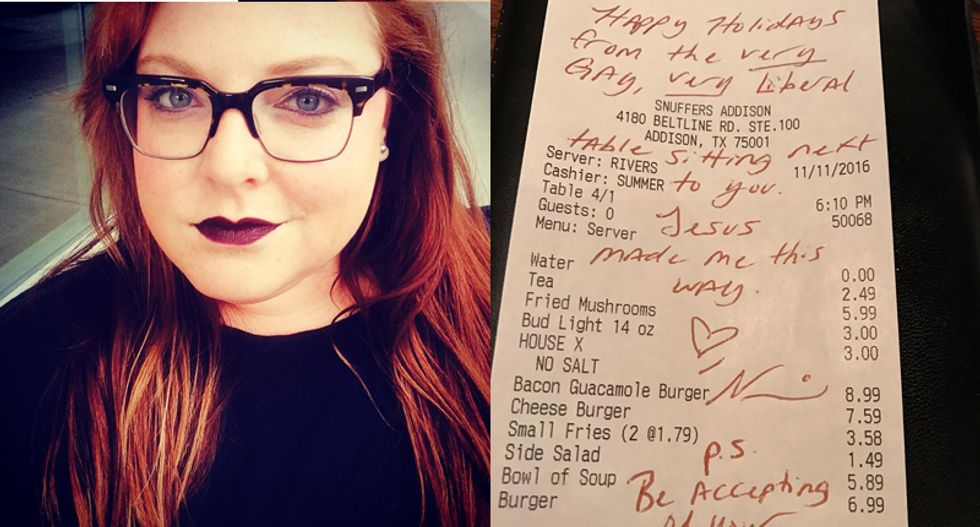'Be accepting of your family': Woman shames nearby diners complaining about their 'awful, gay nephew'