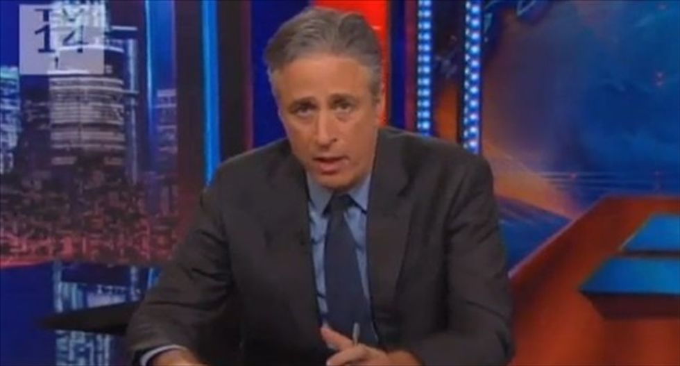 Jon Stewart describes Democratic Party's midterm strategy as 'D*ckless H. Chickensh*t'