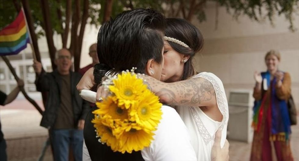 St. Louis judge strikes down Missouri's same-sex marriage ban
