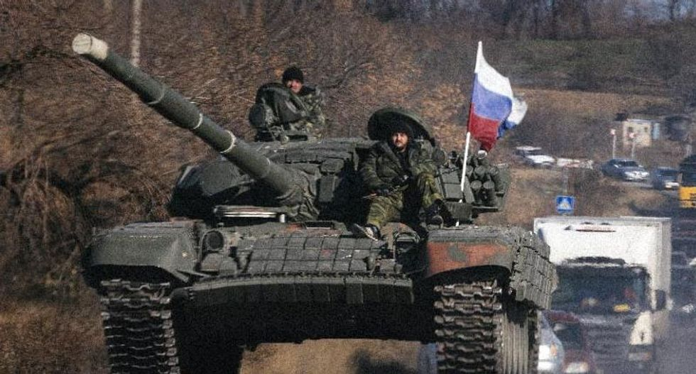 Five soldiers killed as tanks from Russia move into Ukraine
