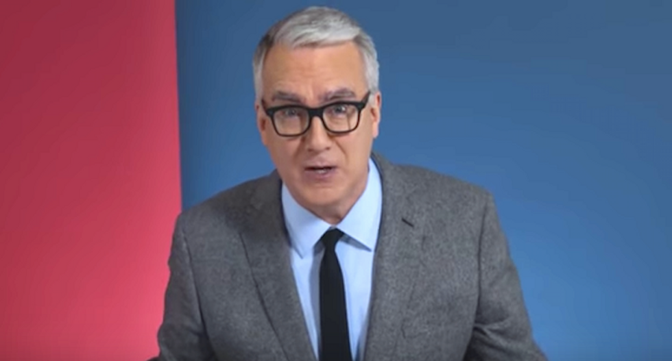 WATCH: Keith Olbermann vows to fight fascism under 'President-elect P*ssy-grabber'