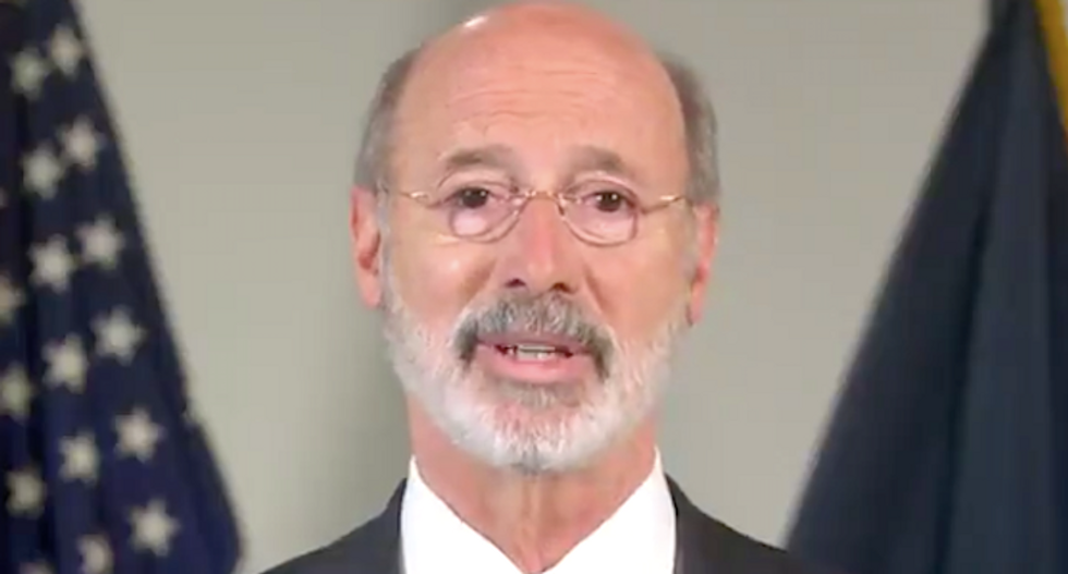 Pennsylvania governor fires back at Trump: 'We will count every vote'