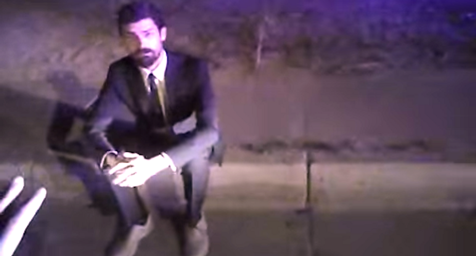 Man who lost testicle won't face DWI charges because cop destroyed video of groin kick