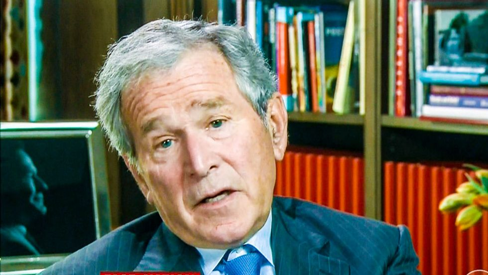 George W. Bush: 'You have to earn your way into politics,' nothing 'is ever given to you'