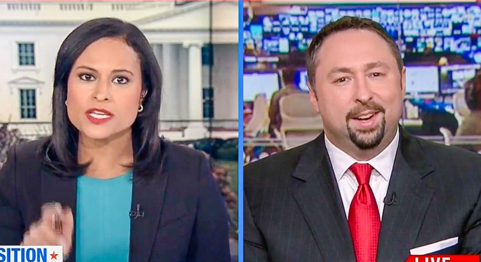 Trump official tells MSNBC host: Steve Bannon is like Rachel Maddow for 'the other side'