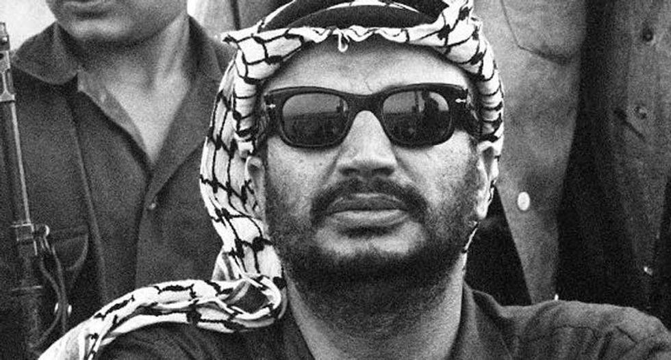 A decade after dying, Arafat still divides Israelis