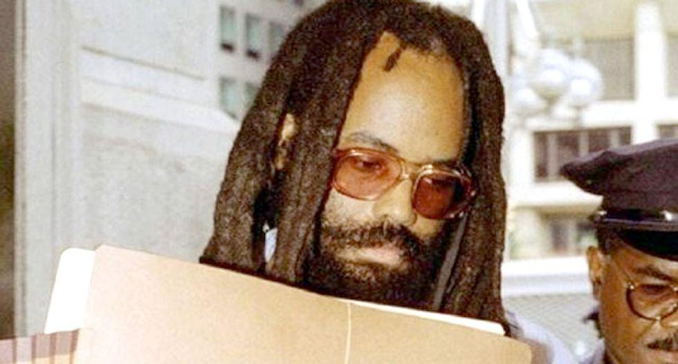 Mumia Abu-Jamal sues Pennsylvania over prisoner speech law