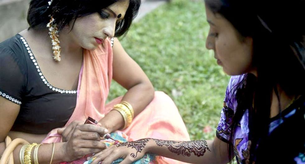Transgender Bangladeshis hold first-ever pride march