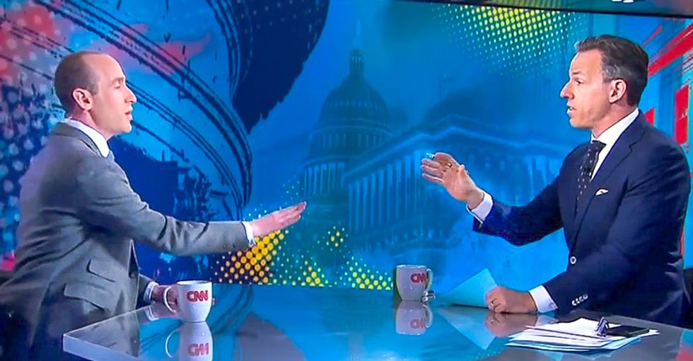 'You've wasted enough time': Jake Tapper cuts off Stephen Miller after he goes berserk over tell-all book