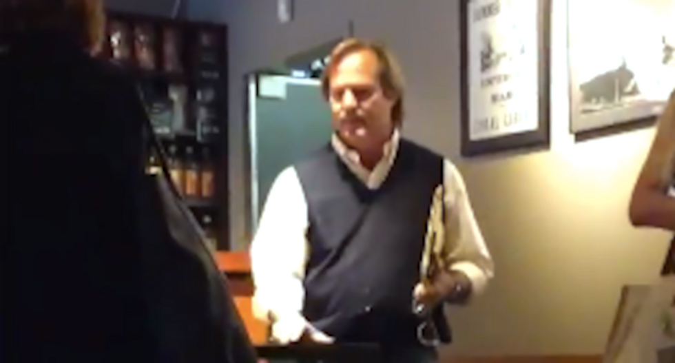 'I voted for Trump!': White customer demands special privileges in Starbucks meltdown