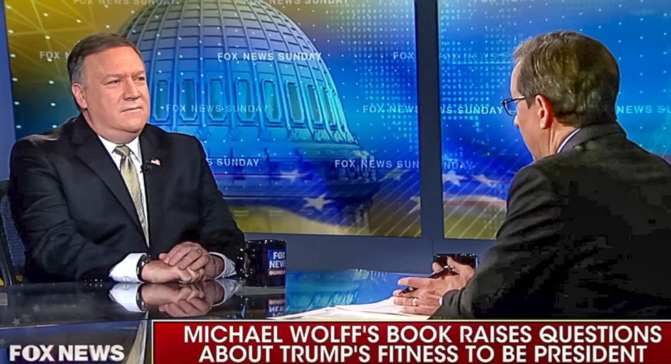 Fox host enrages CIA chief: What would CIA say about a world leader who calls himself 'stable genius'?