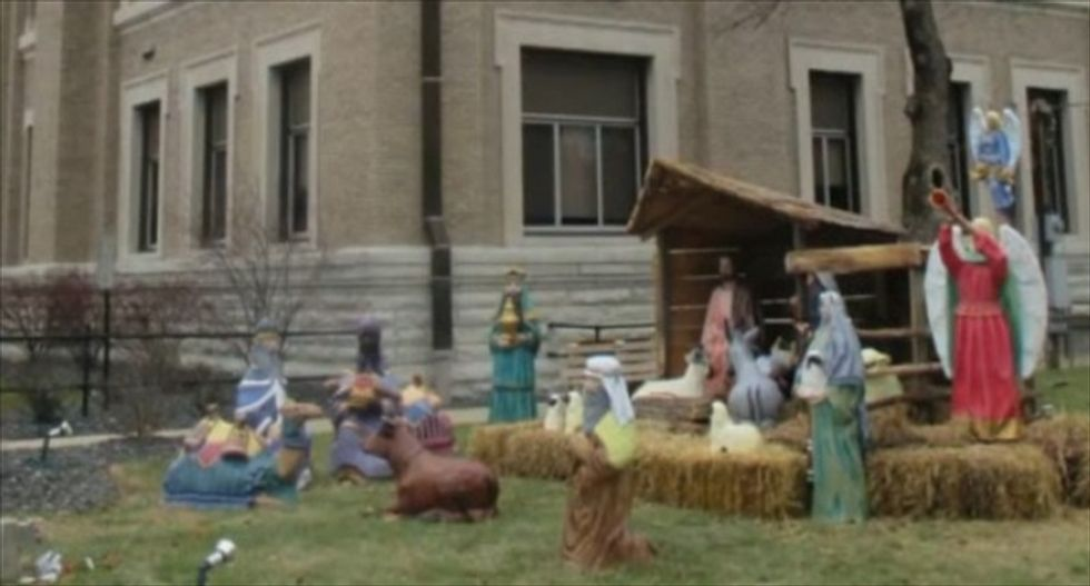 Indiana lawmaker pushing bill to insulate government Nativity scenes from atheist legal 'threats'