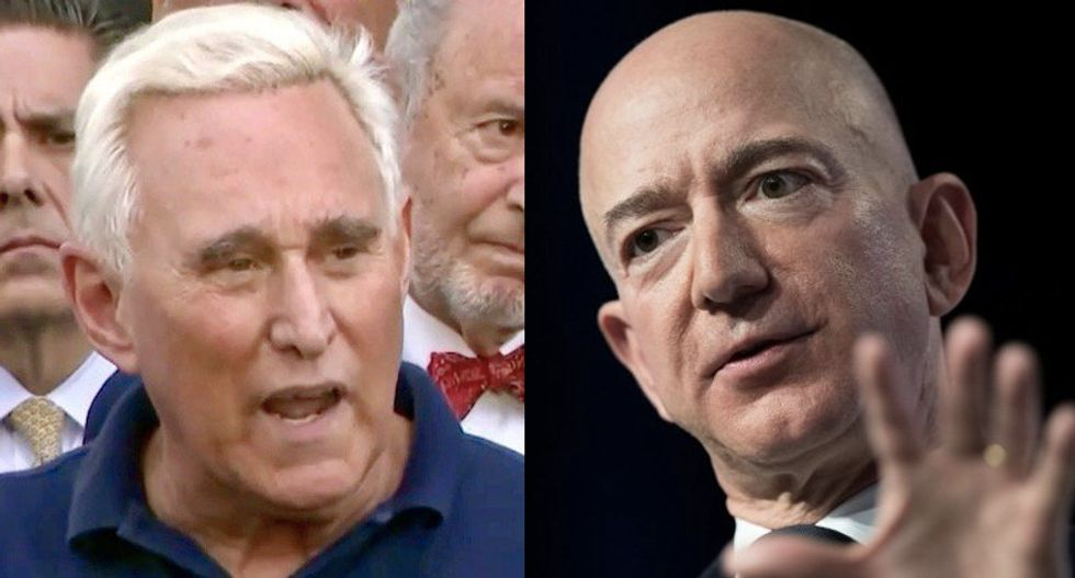 A set up? Bezos text leaker is a lawyer with right-wing clients -- and links to Roger Stone