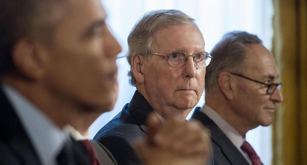 Mitch McConnell says climate target agreement 'unrealistic'