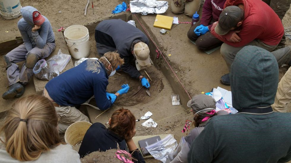 Infants found with ancient weapons and other offerings at 11,000-year-old Alaskan burial site