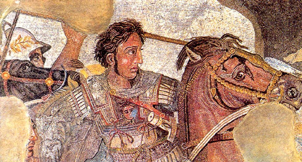 Alexander the Great claimed by both sides in battle over name of Macedonia