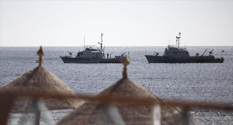 Egyptian military says eight Navy servicemen are missing after 'terrorist' attack