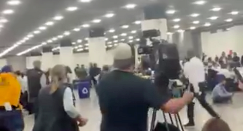 WATCH: Trump supporters chant 'Stop The Count' -- while trying to disrupt tabulation in Detroit