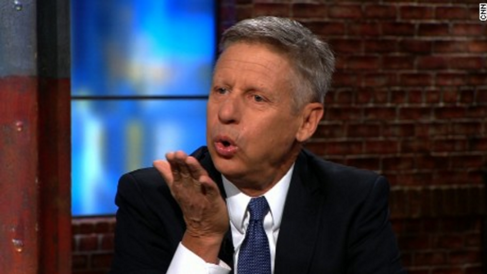 Paul Krugman reveals what Libertarian Gary Johnson really stands for — and it's terrifying