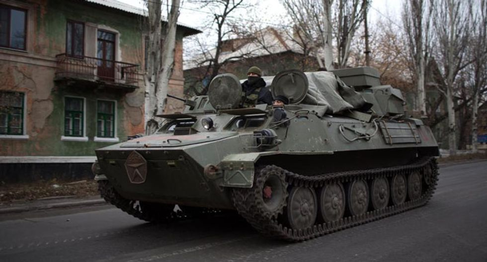UN fears all-out war as NATO accuses Russia of moving tanks into Ukraine