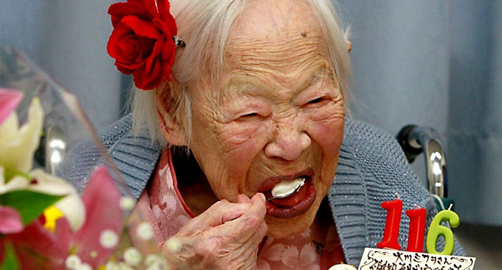 World's oldest people share no genetic secrets: study