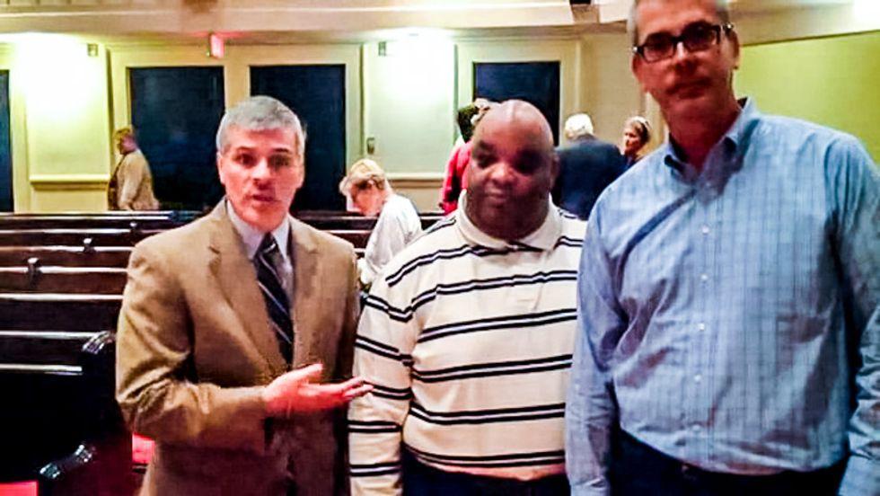 Pastor backs gay couple's discrimination complaint against him after church bans same-sex marriages