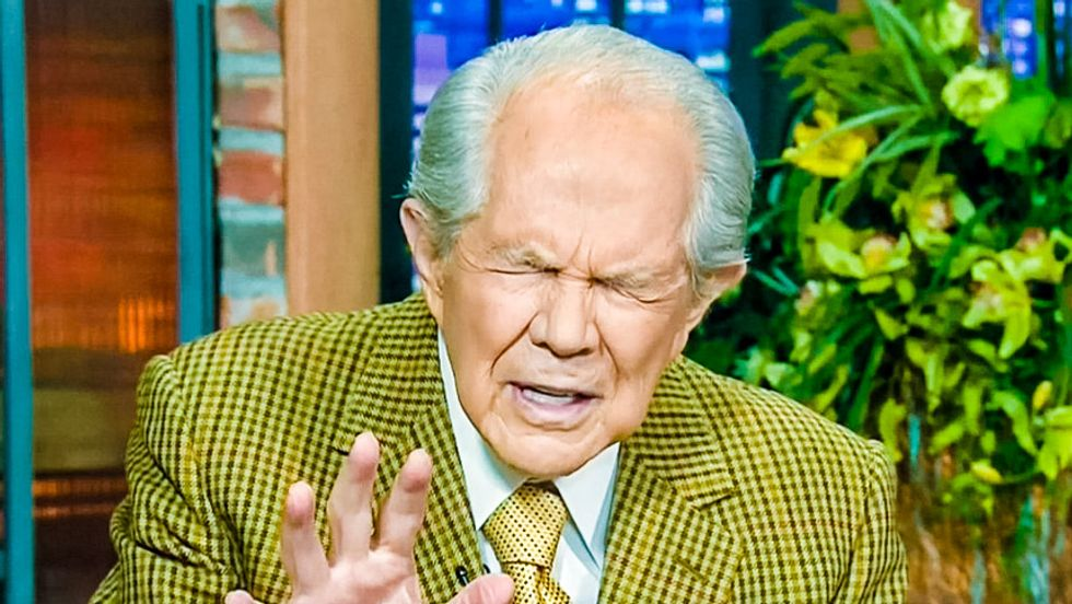 Pat Robertson tells women how to get 'clean' after abortions and 'multiple sex partners'