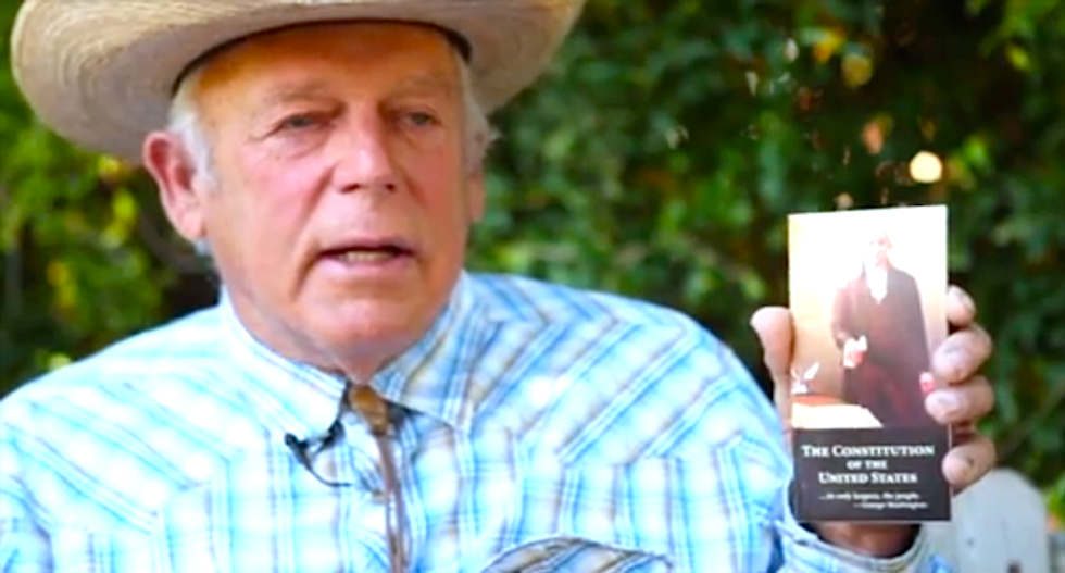 Cliven Bundy says Rand Paul promised to make Nevada a 'sovereign state' if he's elected president