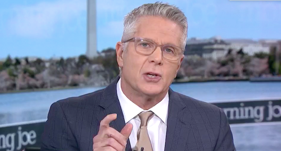'I've had it!' MSNBC's Donny Deutsch goes on epic rant telling white people 'if you vote for Trump -- you own it'