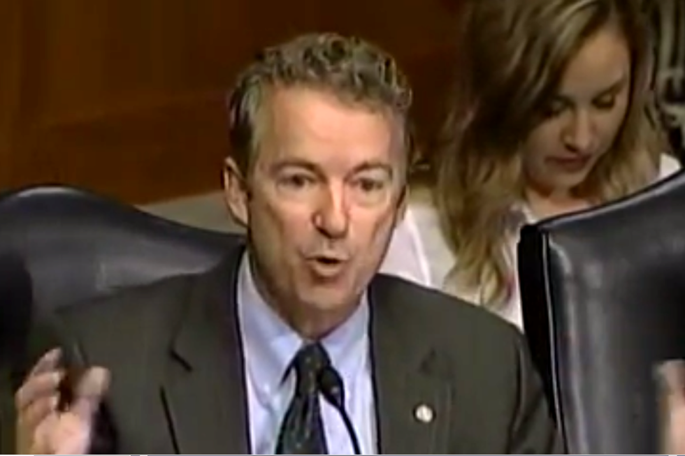 Rand Paul freaks out on workplace equality enforcer: 'How do you show up to work?'